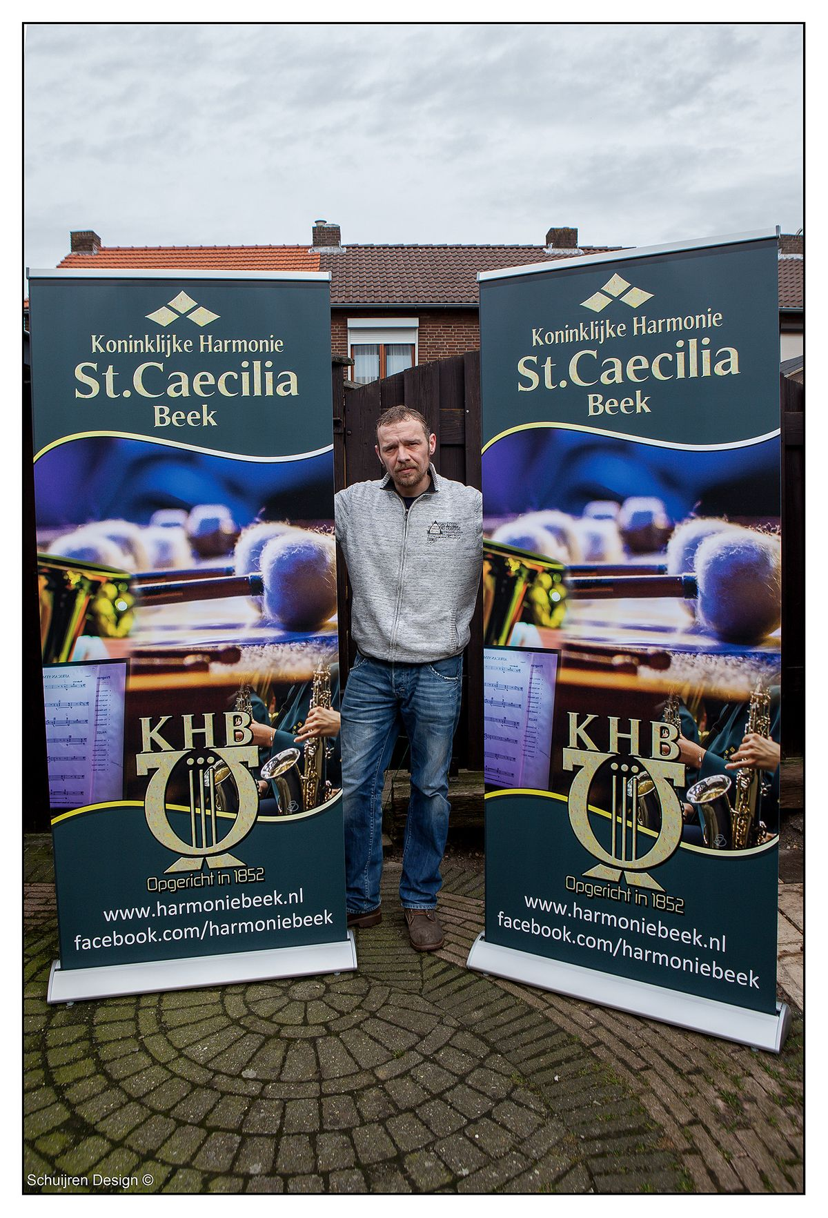 SD 3-3 fotos roll up banner caecilia